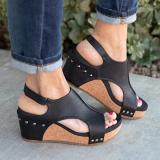 Women Fashion Comfy Wedge Sandals