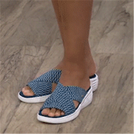 Women'S Comfort & Support Cross Slide Slippers