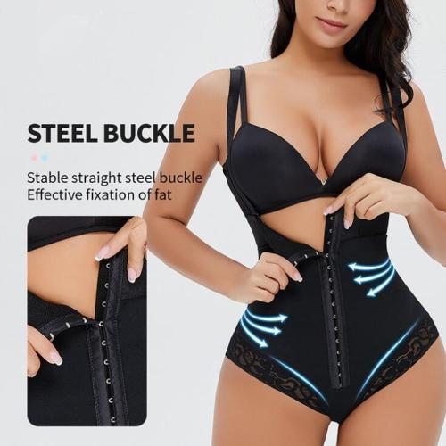 New Tummy Control Butt Lifter Row Hook Bodysuit Shapewear