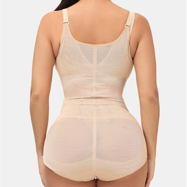 Breathable Waist Control Bodysuit Shapewear