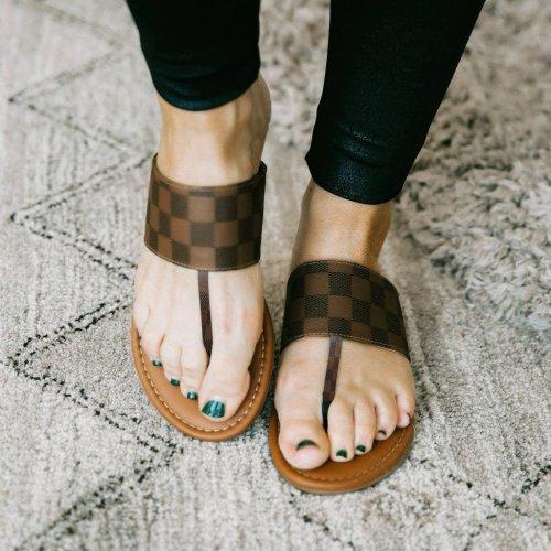 Summer Fanciful Flat Sandal