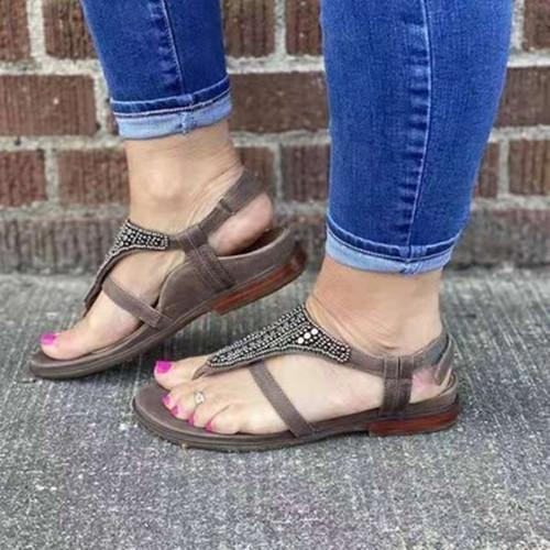 Women Comfy Buckle Sandals