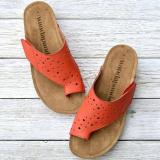 Women Casual Daily Pu Hollow-out Toe Loop Beach Sandals