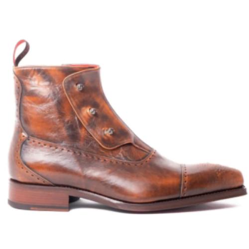 Men's Hot Sale Fashion Leather Trendy Short Boots Men's Boots