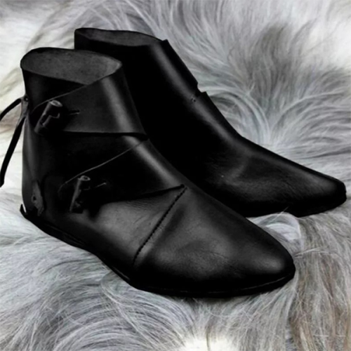 Men's New Trendy Flat-bottomed Men's Boots