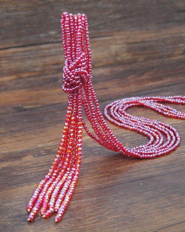 Vintage Crystal Necklaces