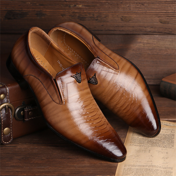 Men's Fashion Business Formal Wear Casual Leather Shoes