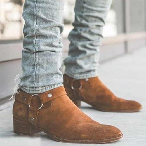 Fashion Trend Matching Martin Boots Men's  Boots