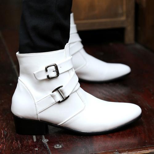 Men's Fashion New Trendy Flat-bottomed Men's Boots