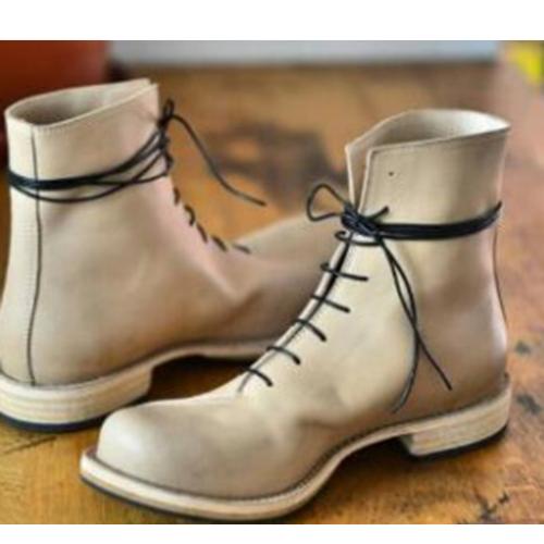 2021 New Fashion Trend Short  Men's Boots
