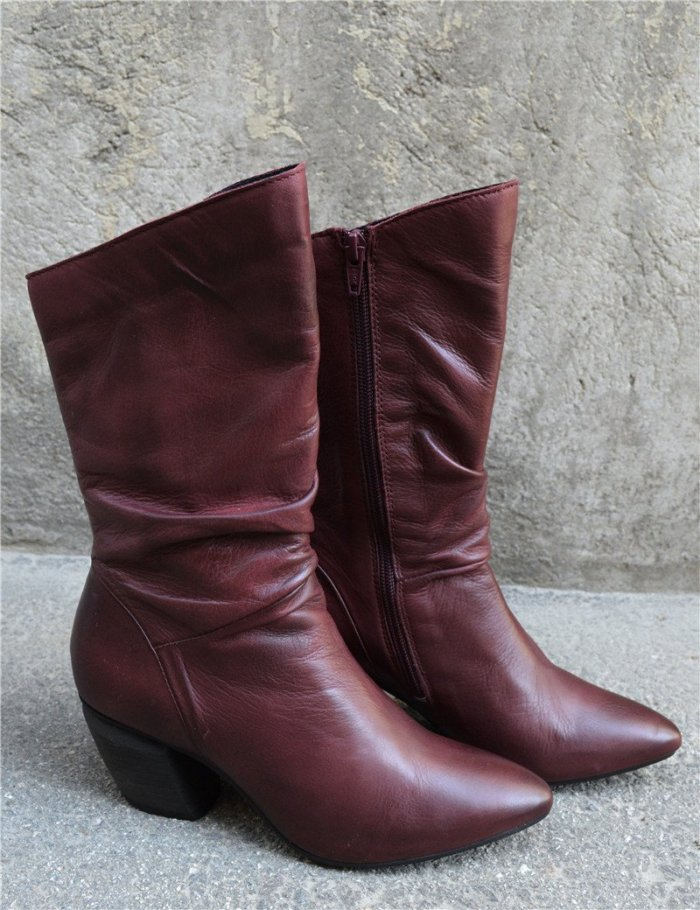 Women's Vintage Bohemian Booties (Ready for Fal and Win)