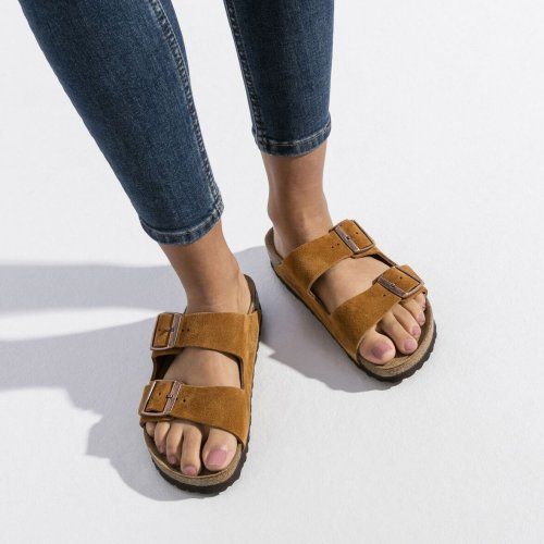Women'S Comfort&Support Suede Leather Slippers