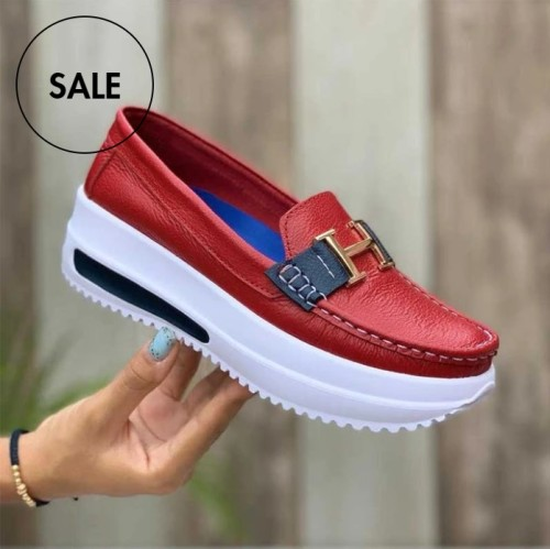 🔥[50% OFF]🔥Womens Casual Comfortable Platform Loafers