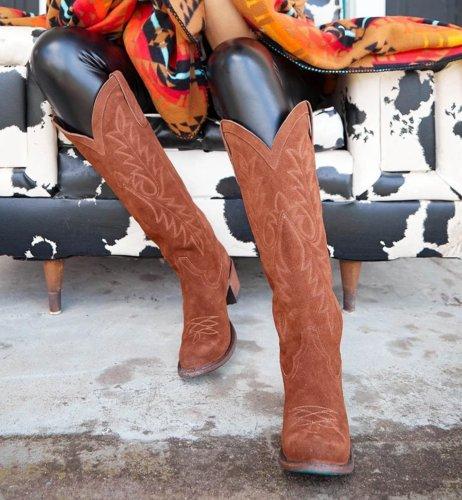 Winter Black Ankle Heel Boots
