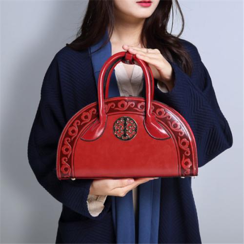 Women National Retro Handbag Folk Elegant Crossbody Bag