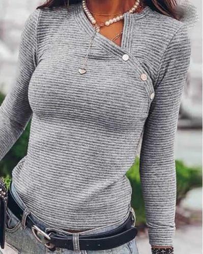 Women Casual Long Sleeve Shirts