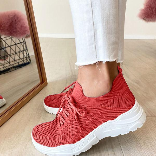 Casual Stretch Sock Flexible Sole Sneakers