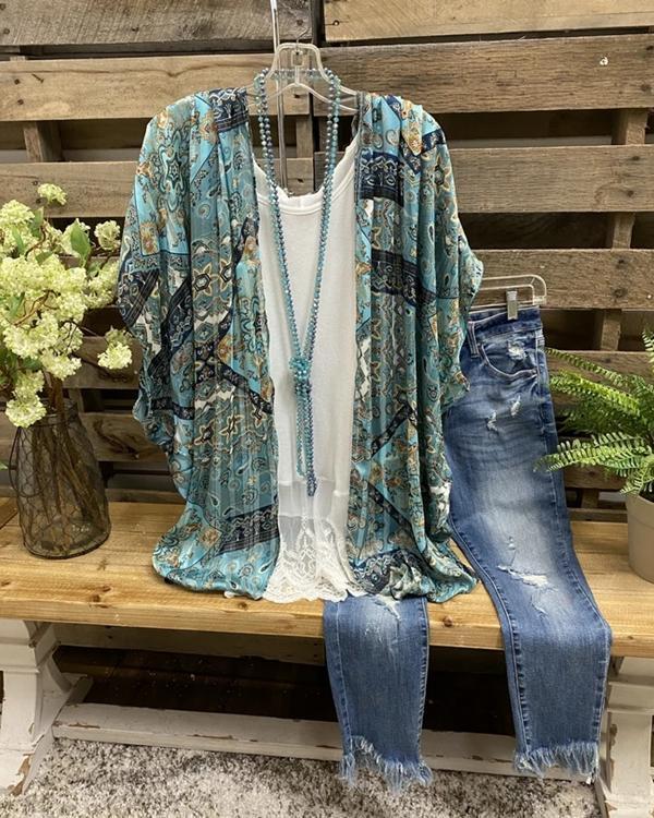 Fall Fashion Printed Comfortable Casual Cardigan