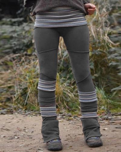 Retro Thick High Waist Slimming Leggings