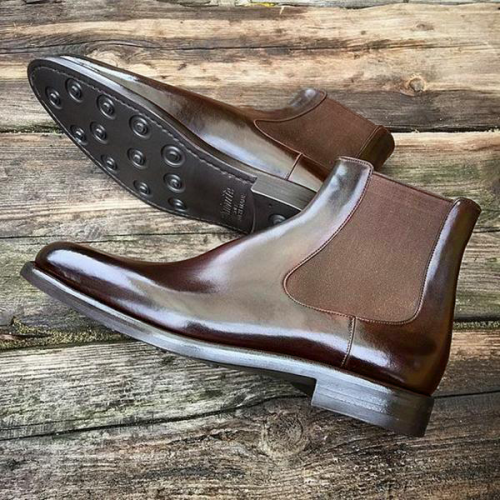 Men's Handmade Leather Chelsea Boots