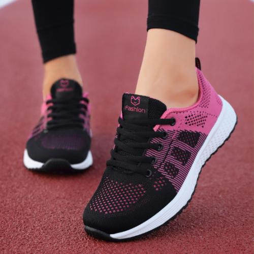2020 New Fashion Women Flat Casual Sneakers