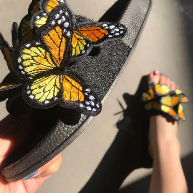 Fashion Women Summer Open Toe Low Heel Bohemian Sandals