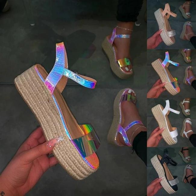 Holiday Artificial Leather Summer Sandals