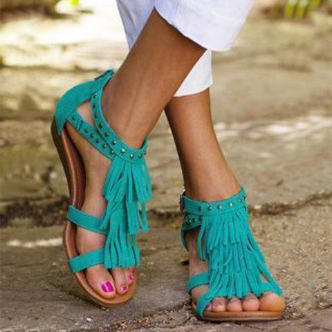 Low Heel Daily Sandals