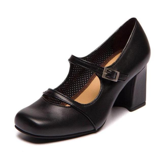 Women Contrast Color Middle Heels Casual  Sandals