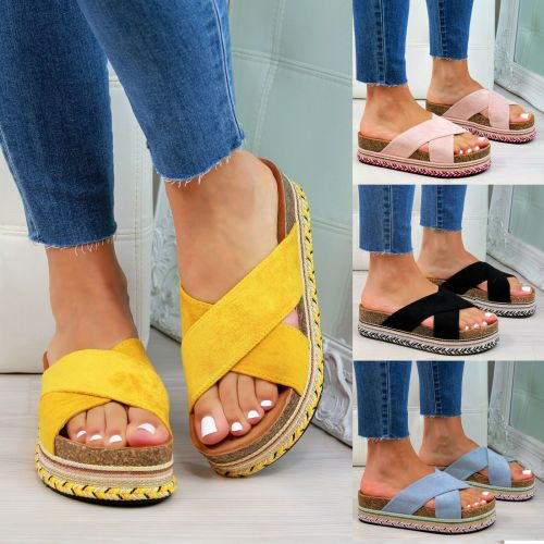 Women Fashion Plus Size Espadrille Sandals