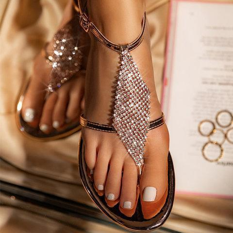Artificial Leather Summer Sandals