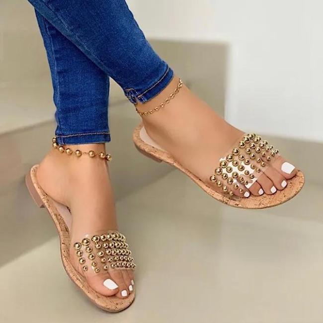 Holiday Slide Sandals