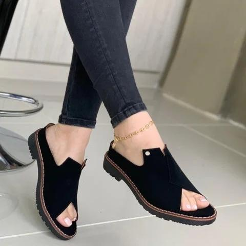 Summer Slip-On Flat Sandals
