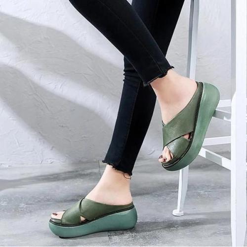 Women Thick Heel Platform Sandal