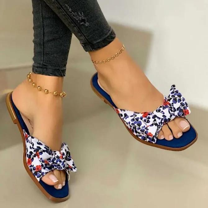 Summer Casual Flat Heel Slippers