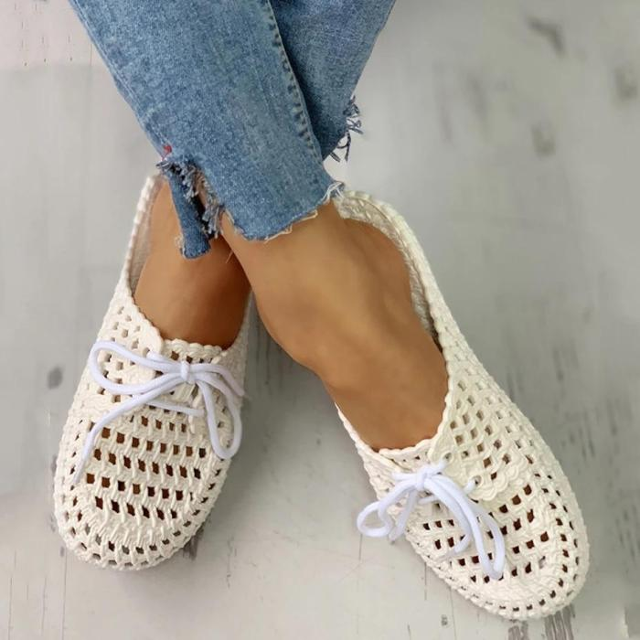 Summer Comfy Breathable Beach Home Hollow Out Sandals Slippers
