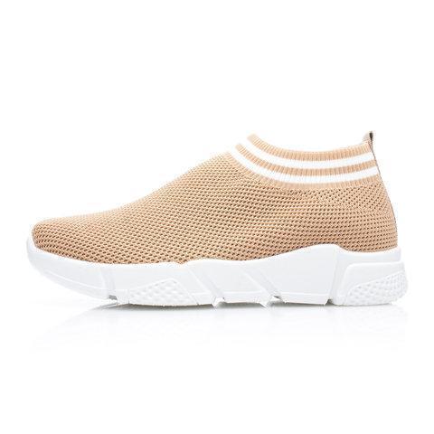 Womens Mesh Fabric All Season Casual Sneakers