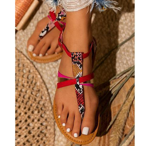 Daily Artificial Leather Sandals