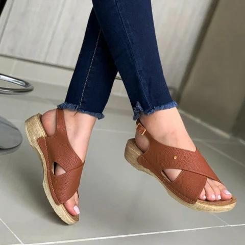 Flat Heel Daily Sandals