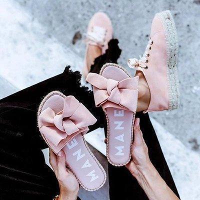 Women's Bowknot Flats Flat Heel Sandals
