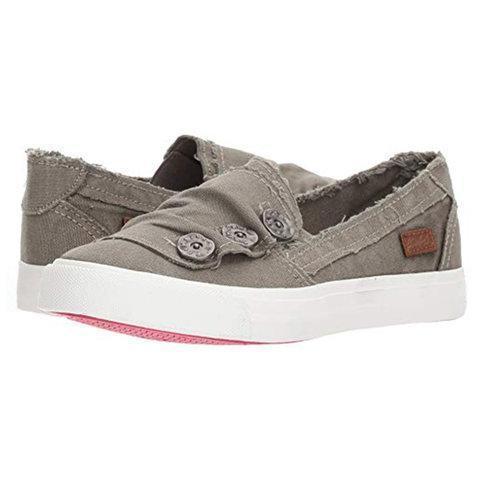 Women Casual Button Comfy Sneaker