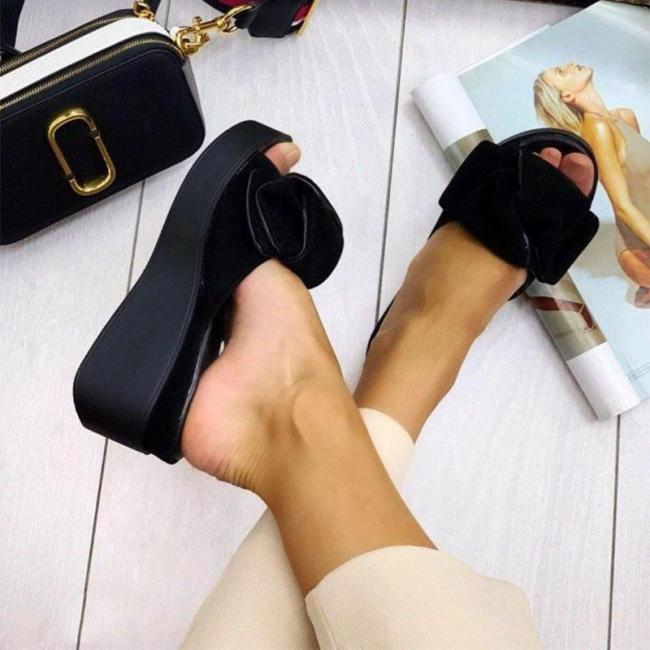 Women Peep Toe Casual Summer Sandals