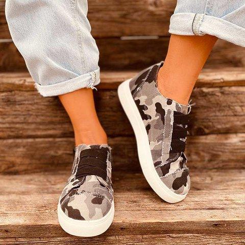Women Canvas All Seaso Cameo Sneakers