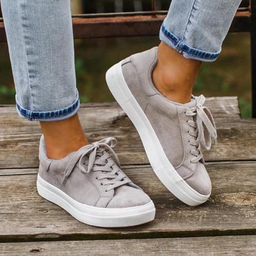 Women Slip-On Round Toe Flat Sneakers