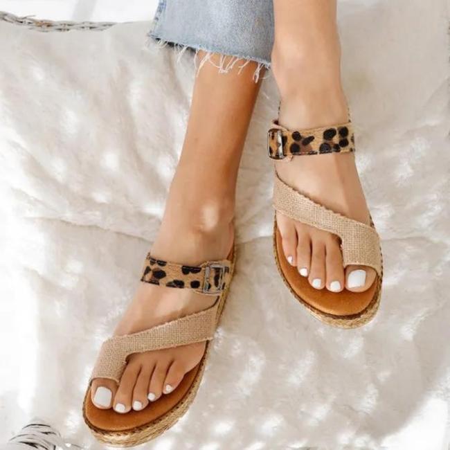Summer Ring Toe Platform Sandals