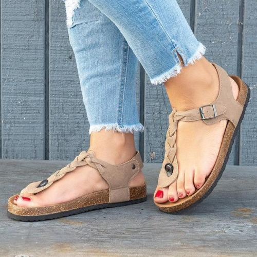 Women Sandals Casual Flip Flops Beach Shoes