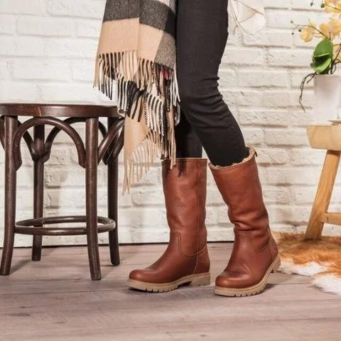 Brown waterproof Warm Winter Boots