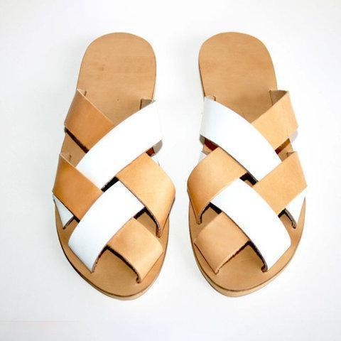 Women Soft leather Casual Sandal Shoes