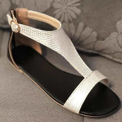 Peep Toe Casual Date Sandals
