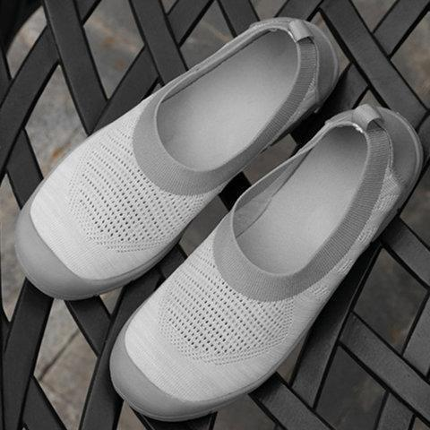 Comfy Soft Slip On Round Toe Flats